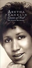 ARETHA FRANKLIN Queen of Soul The Atlantic Recordings NEW sealed 4CD box set OOP