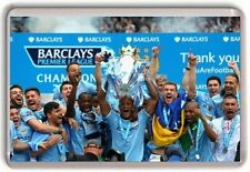 Manchester City Premier Leauge Champions 2014 Fridge Magnet 02 Man City