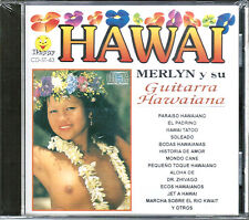 MERLYN Y SU GUITARRA HAWAIANA * Hawai * NEW Sealed CD *  24 Songs