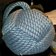 "Mariner's- Monkey Fist Knot- Door Stop 20""Dia.5#5oz."