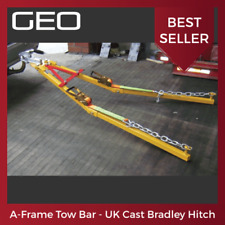 3.5t STRAIGHT BAR TOWPOLE DOLLY TOWING POLE A FRAME  EASY CONNECTION SPRING 2.2m