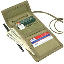 Condor 235 VAULT Tri-Fold Wallet ID Pouch with Removable Neck Landyard OD Green
