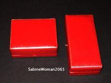 NEW in RED BOX STEUBEN art glass 14k GOLD AIR TWIST CUFFLINKS & STICK PIN lapel