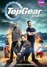 Top Gear USA: The Complete Fourth Season (DVD, 2014, 5-Disc Set)