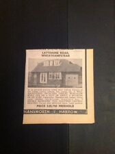 L1-4 Ephemera 1973 Advert Lattimore Road Wheathampstead