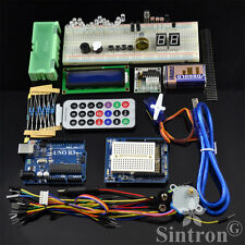 [Sintron] Uno R3 Kit with LCD Servo Motor Sensor + PDF Files for Arduino Starter