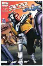 STAR TREK DOCTOR WHO #3 A, VF/NM, Next Generation, Borgs, 2012,more in store
