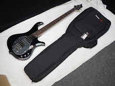 TRABEN Neo 4-string BASS guitar NEW Gloss Black w/ GIG BAG