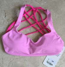LULULEMON Free to Be Wild Sports Bra Vintage Pink Size 4 NWT!!