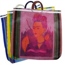 6 Lot Tote Bag Frida Kahlo Reusable Grocery Market Mexico Pack Wholesale *940*
