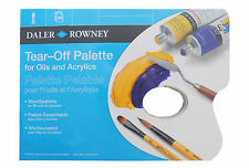 DALER ROWNEY TEAR OFF PAPER  PALETTE - A3 (FOR OILS AND ACRYLICS)
