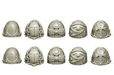 SPELLCROW - 10x Epaulettes Space Marine du Chaos *Warhammer 40k Bitz*