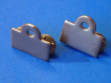 CANADA Canadian Armed Forces early Navy Commodore metal collar bars dogs