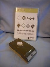 SU Stampin' Up MOSAIC MADNESS  + MATCHING  PUNCH Retired BRAND NEW UNUSED