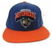 "NOTORIOUS B.I.G. ""KNICKS LOGO"" BLUE AND ORANGE CAP NEW OFFICIAL"