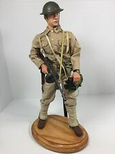 1/6 DRAGON US 6TH INF DIV LT PHILIPPINES COLT THOMPSON + OAK STAND DID BBI WW2