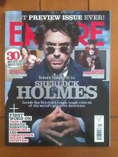 Empire September 2009 Sherlock Holmes (Downey Jr), Tim Burton, Johnny Depp