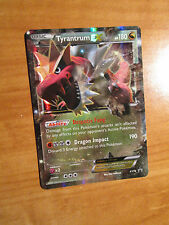 EX TYRANTRUM EX Pokemon Card PROMO Black Star XY70 Set Ultra Rare Box TCG