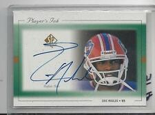 ERIC MOULDS 1999 SP AUTHENTIC PLAYERS INK GREEN BILLS ON CARD AUTO