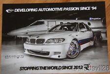 2013 ProjektCars BMW SEMA Show Promo info card