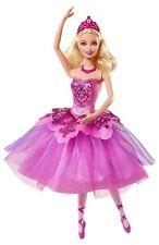 BARBIE BAMBOLA BALLETTO IN ROSA Scarpe Festa Ballerina bbm00 Kristyn Farraday NUOVO CON SCATOLA