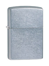 ZIPPO  BRUSHED CHROME WINDPROOF CIGARETTE LIGHTER~#207 MADE IN USA NEW