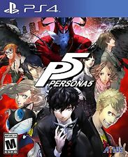 Pre-order P5 Persona 5 Standard Edition for PlayStation 4 PS4 2017