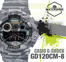 Casio G-Shock Gray Design Camouflage Series Watch GD120CM-8D