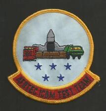 """AFOTEC ICBM TEST TEAM    PATCH  4"""""""