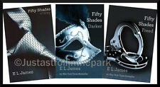 Fifty 50 Shades of Grey, Fifty Shades Darker, Fifty Shades Freed Trilogy NEW!