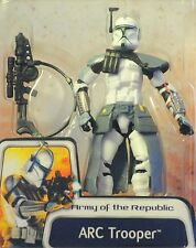 Clone Wars Army of the Republic Blue ARC Trooper 03#43 Concept action figure MOC