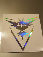 Neo-Chrome TEAM INSTINCT Symbol Laptop Vinyl Decal Sticker Pokémon Pokemon Go