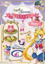 Re-ment Sailor Moon Sailormoon Crystal miniature Cafe Sweets Collection 8 PCS