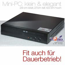 MINI-PC CASS-COMPUTER WITH 1,5GHz CPU DVD 512MB DDR2 SATA + IDE 2 x LAN 4 x USB