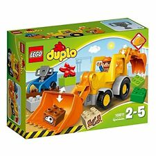 LEGO 10811 DUPLO Town Backhoe Loader Construction Set
