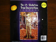 Tie - A - Skeleton Door Wall Tree Yard Cover Halloween decoration decor NEW