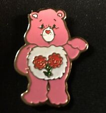Vtg Care Bear Friend Bear Lapel Hat Pin / HGC H. Eldon Ltd / New Old Stock /1983