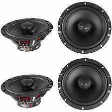 "(4) New! MB Quart DK1-116 6.5"" 140 Watt 2-Way Car Speakers/Aluminum Dome Tweeter"