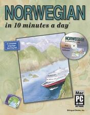 NORWEGIAN in 10 minutes a day® with CD-ROM by Kershul, Kristine K.