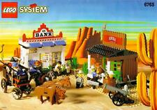 Lego Western Cowboys 6765 Gold City Junction NEW Sealed Ships WORLD WIDE
