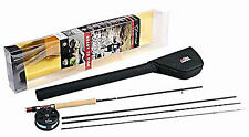 Abu Garcia Diplomat 9ft 904 LH 4 Piece Carbon Fly Rod with Reel Combo 1132458