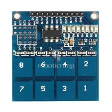 Hot TTP226 8 Channel Digital Capacitive Switch Touch Sensor For Arduino UNO R3