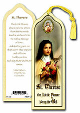 St. Therese Little Flower Bookmark NEW Catholic Faith