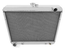 3 Row All Aluminum Champion Radiator For 1968 - 73 Dodge/Plymouth Cars