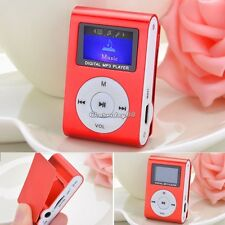 Mini Radio FM pantalla LCD MP3 Reproductor De Música Apoyo para 32GB Micro SD TF