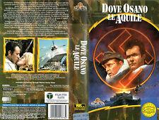 Dove osano le aquile (1969) VHS MGM Gli Scudi