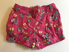 Pink + Butterfly Shorts, Girl 4 years, Summer, holiday, Bright, Cotton, Fun