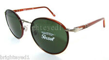 Authentic PERSOL Round Sunglasses PO 2422-SJ - 1052/31 *NEW* 51mm
