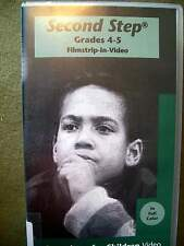 Second Step Grades 4 - 5 Filmstrip-in-Video (VHS) FREE SHIPPING!!!!!