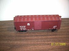 Vintage O Scale NdeM 69047 Double Door Box Car,,Brass SCALE